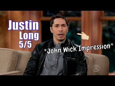 Justin Long  Does A Great Keanu Reeves Impression  55 Visits In Chron. Order