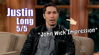 Justin Long - Does A Great Keanu Reeves Impression - 5/5 Visits In Chron. Order