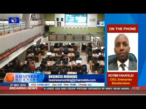 Business Morning: Equities Market Review 27/05/16