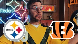Dad Reacts to Steelers vs Bengals (Week 7)
