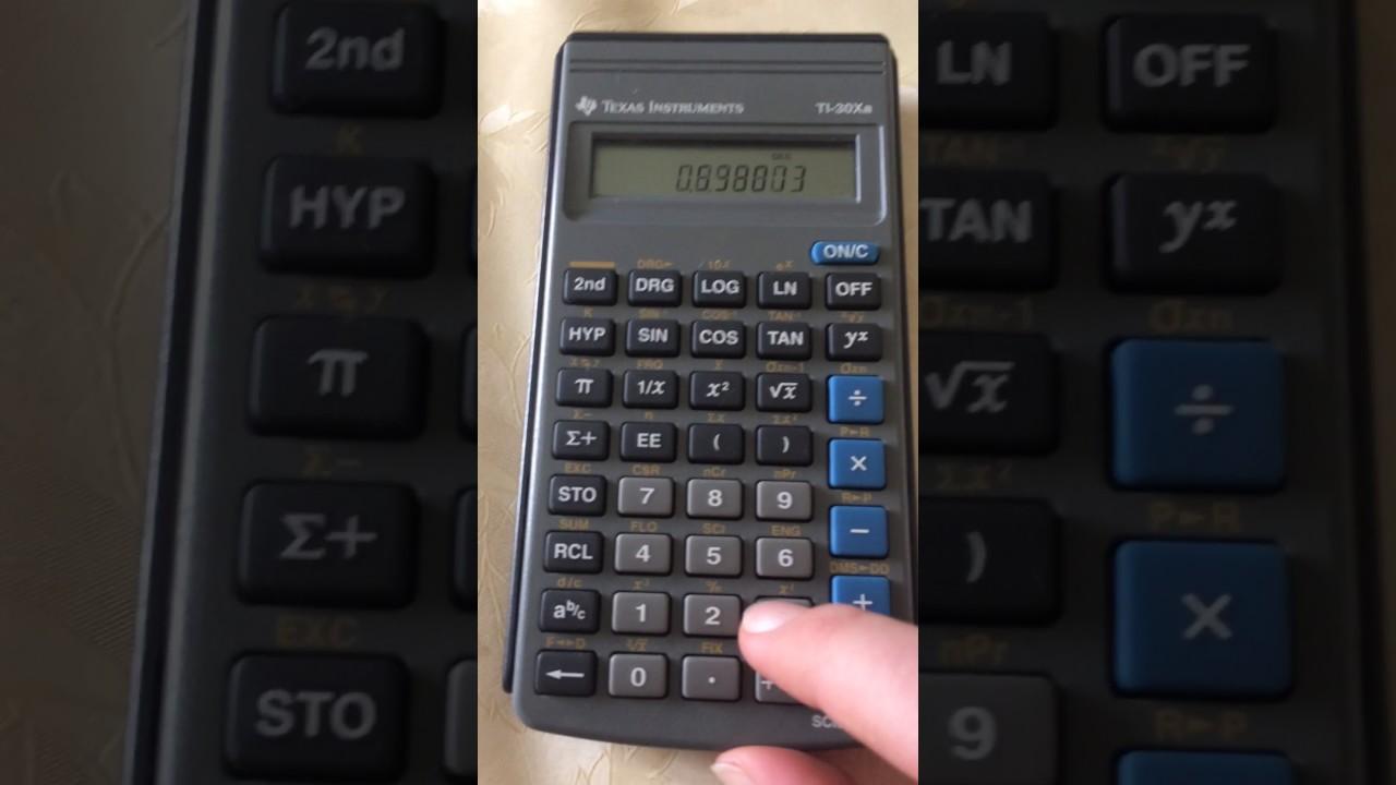 Calcolatrice scientifica | Calcolatrici con funzioni ...