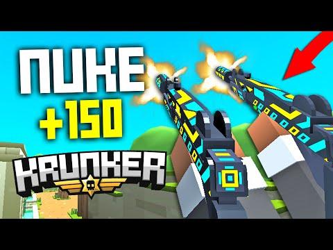 the Krunker.io UZI NUKE FINALLY Happened! (Funny Moments)