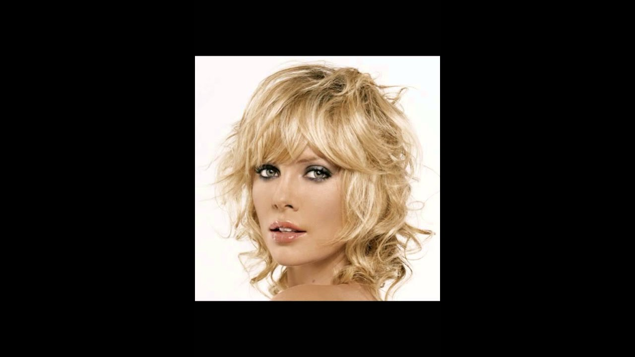 wavy curly hair styles shaggy hairstyles for wavy hair with thick and layer 8702