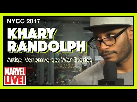 Interview with Khary Randolph - Marvel LIVE! NYCC 2017