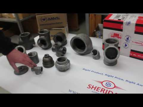 Nipples, Tees, Unions, Flanges from Anvil - Sheridan Supply