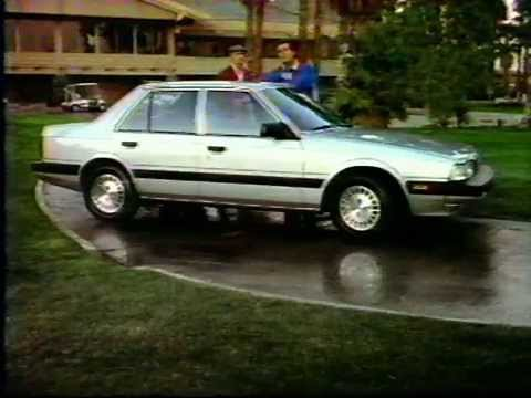 1985 Mazda 626 Commercial - YouTube