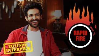 Kartik Aaryan's CLASSY Rapid Fire On Ranveer Singh, Shah Rukh Khan, Salman Khan, Akshay Kumar