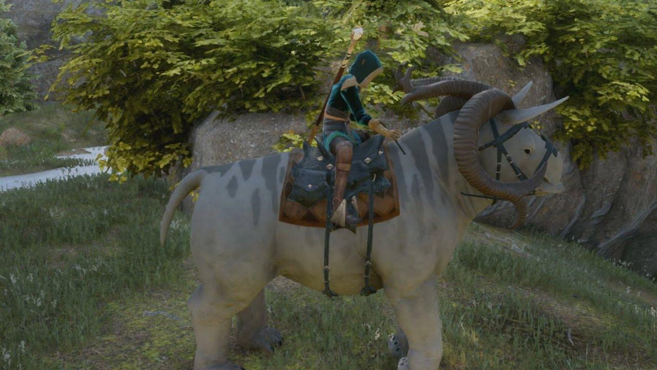 how to get companion to ride horse skyrim