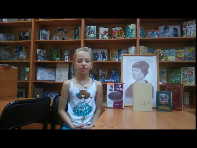 Изображение предпросмотра прочтения – ОмелияГречкина читает произведение «Кое-как удалось разлучиться» А.А.Ахматовой