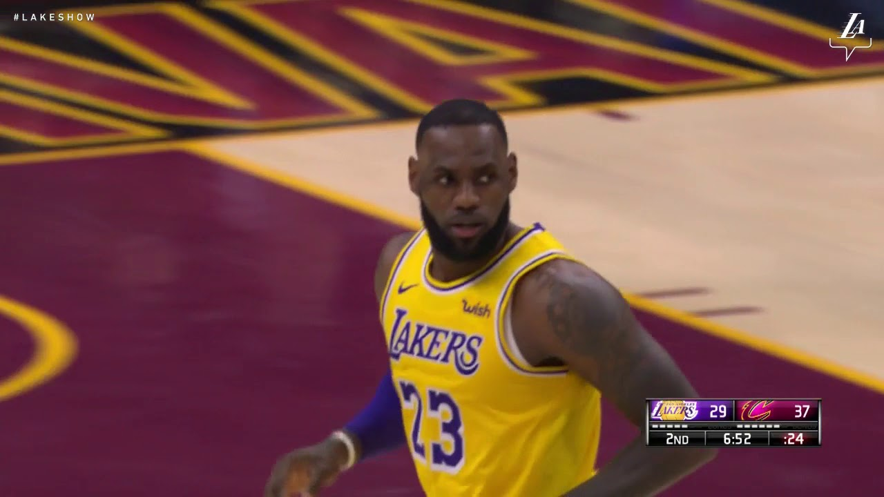 Highlights Lakers Vs Cavaliers 11 21 18 Youtube