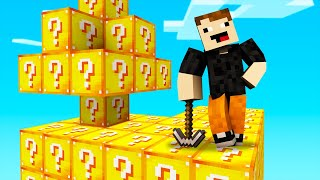 SKYBLOCK DE LUCKY BLOCKS! 💎🔥 | Minecraft