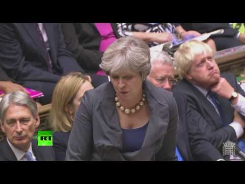 LIVE: Theresa May holds first PMQs since Tory Party speech
