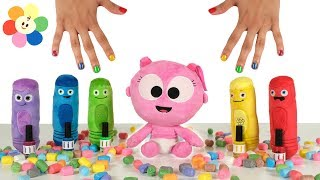 Learning Colors with Nail Polish | Color Crew & Gaga Baby Pretend Play Toys for Toddlers | BabyFirst