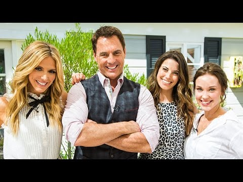 """Highlights  """"Chesapeake Shores"""" Stars Meghan Ory and Laci Mailey  Hallmark Channel"""