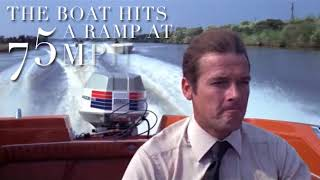 LIVE AND LET DIE BOAT CHASE