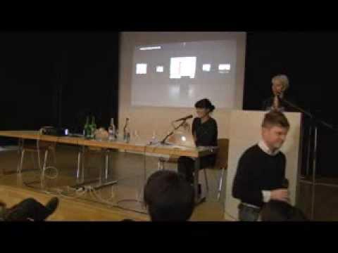 ZHdK Master Fine Arts Symposium 2013. Anahita Razmi.