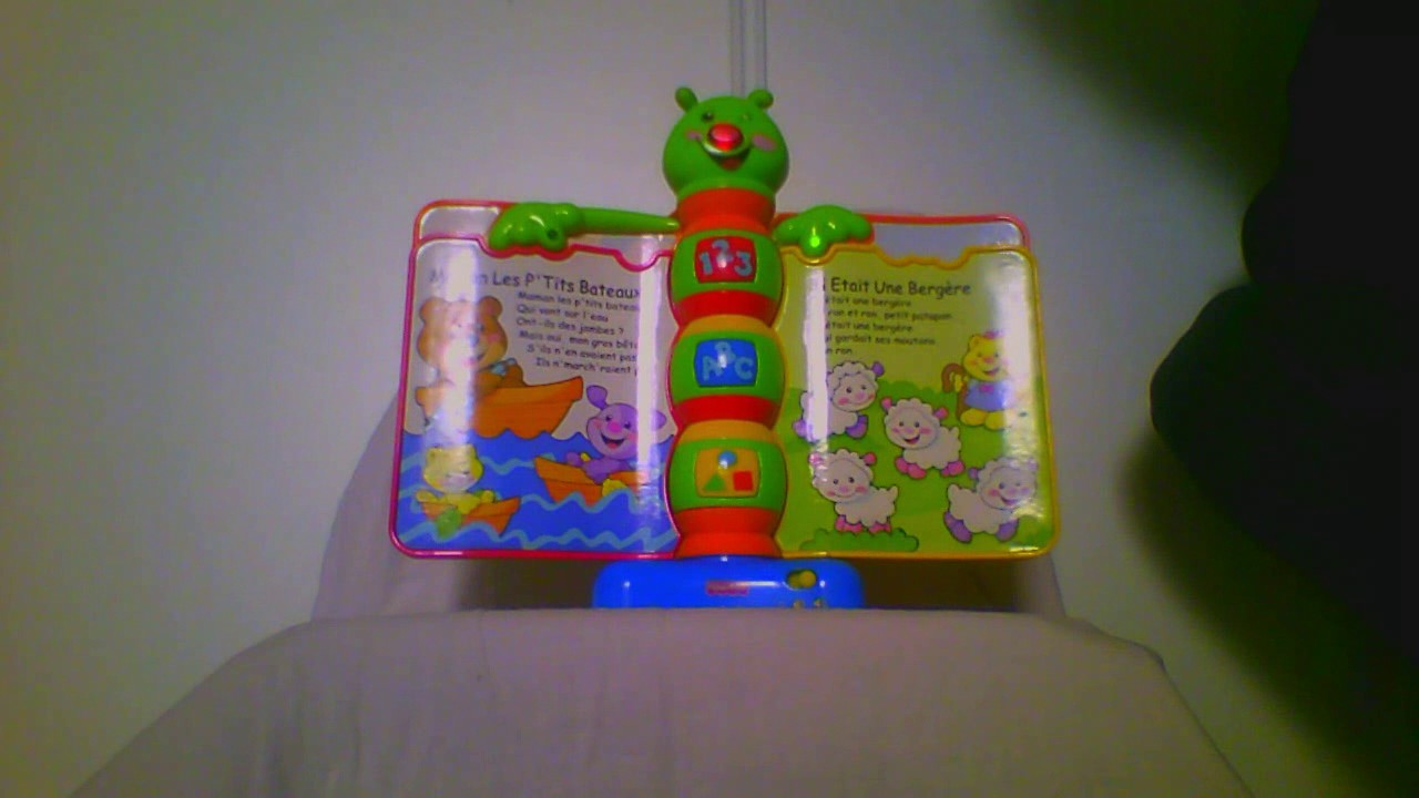 Fisher Price Laugh And Learn Storybook Rhymes Demo In French Livre D Eveil Rigolotronique