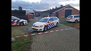 Politie Ontdekt Drugslab In Schuur Tijdens Buurtonderzoek In Vragender