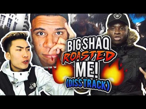 BIG SHAQ 'MANS NOT HOT' ROASTED ME (DISS TRACK)