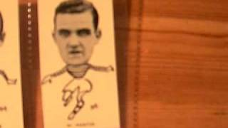 Old 1930s Scottish Association Football Trading Cards - Pele