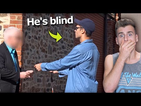 Download Youtube: Would You Steal Money From A Blind Man?