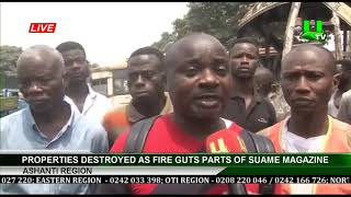 Properties Destroyed As Fire G…