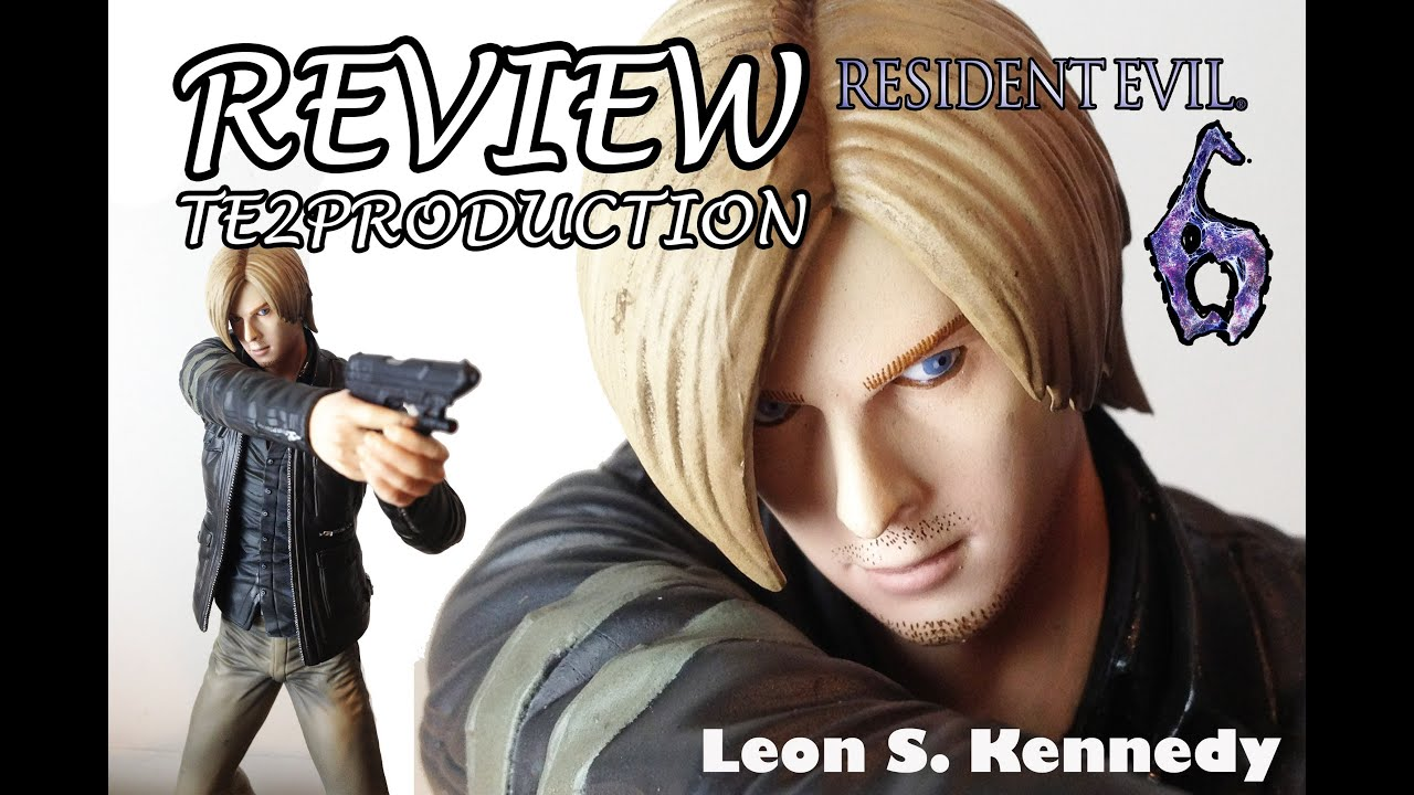 Review Resident Evil 6 Figurine Leon S Kennedy