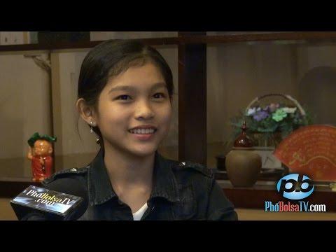 """Giọng hát nhí Thu Hiền: """"Mong muốn được nổi tiếng như mẹ Phi Nhung."""""""