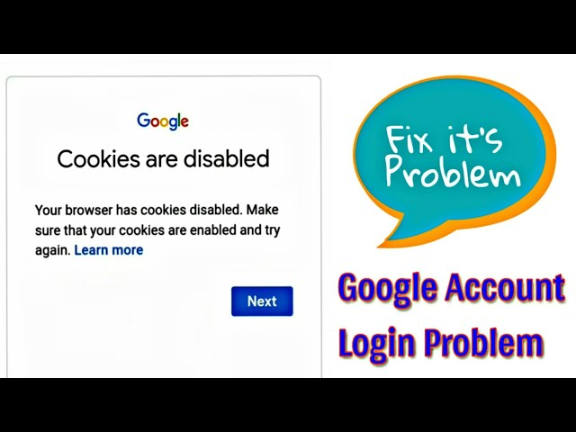 Fix Cookies are disabled problem in Google || solutions of Google account login problem #Sujay_ifote