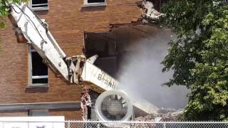 St. Francis Hospital Demo Part 2 - Beech Grove 6/19/17