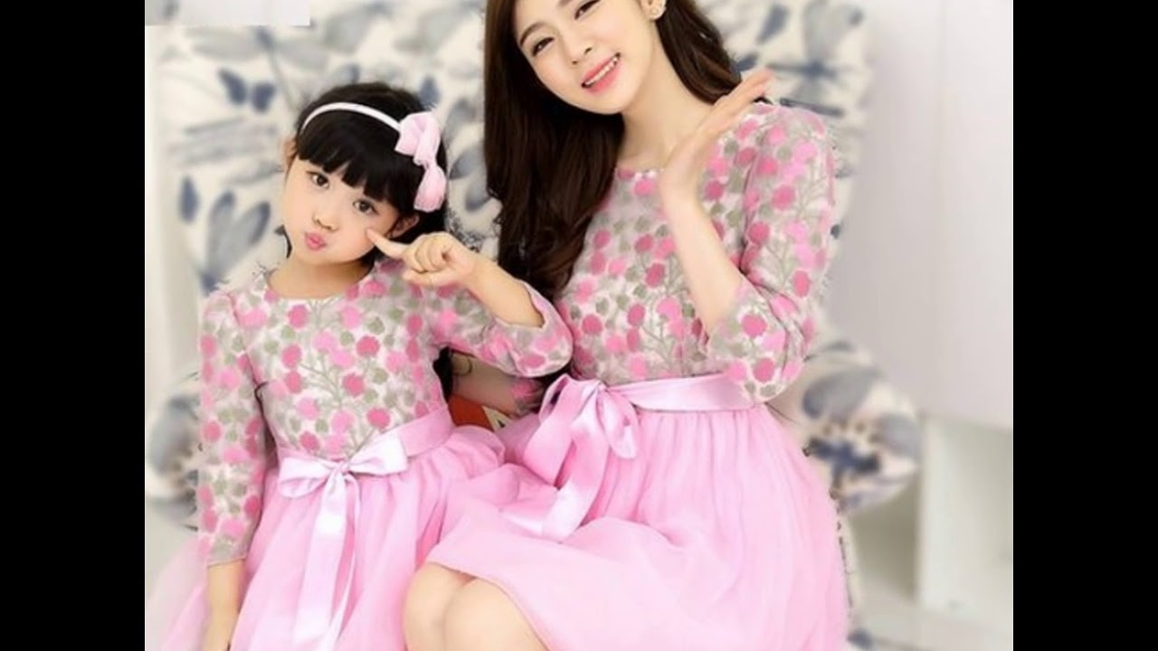 Vestidos de fiesta madre e hija iguales