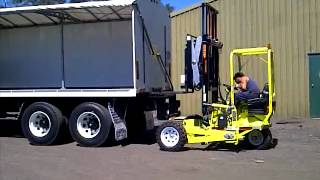 Poyntz Covered Wagon And Donkey 4k Forklift