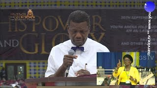 PASTOR EA ADEBOYE SERMON  HIS POWER AND GLORY