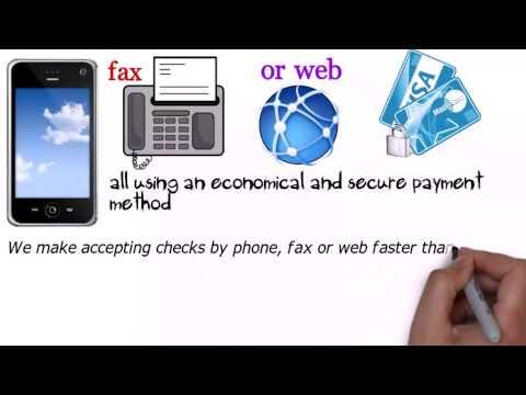 Accept & Process eCheck Payments Online Electronic Checks  -  (818) 538-7885
