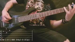 Slipknot - Unsainted Bass Cover (Tabs)