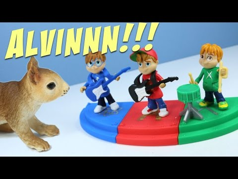 Alvinnn!!! and the Chipmunks Toys vs. The Squirrel Stampede