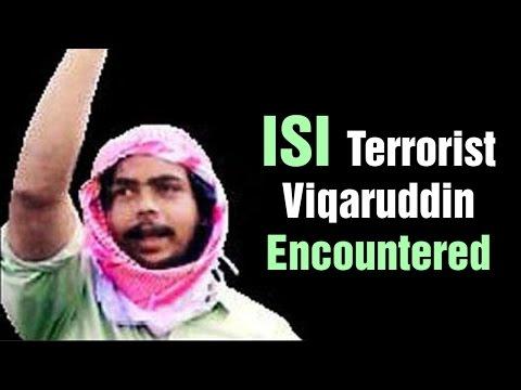 ISI Agent Vikaruddin Encountered at Warangal | Express TV