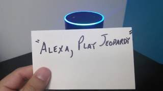 Alexa Skills: Jeopardy!s Hidden Question-Answers