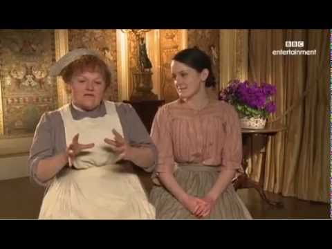 Lesley Nicol and Sophie McShera Downton Abbey