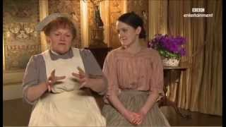 Lesley Nicol and Sophie McShera Downton Abbey Interview