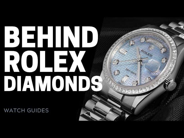 Rolex Diamond Watches - The Art of Gem-Setting at Rolex   SwissWatchExpo