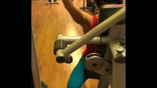Тренировка плеч в Германии