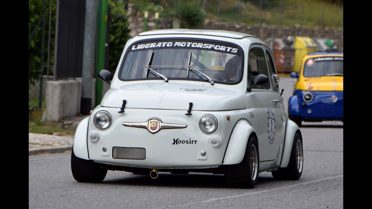 FIAT Abarth 595 SS Gr. 5 hillclimb - YouTube