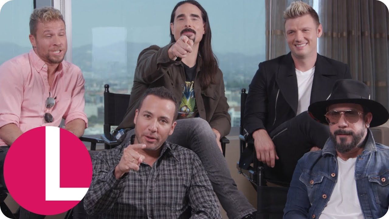The Backstreet Boys Are Back And Touring The Uk Lorraine Youtube
