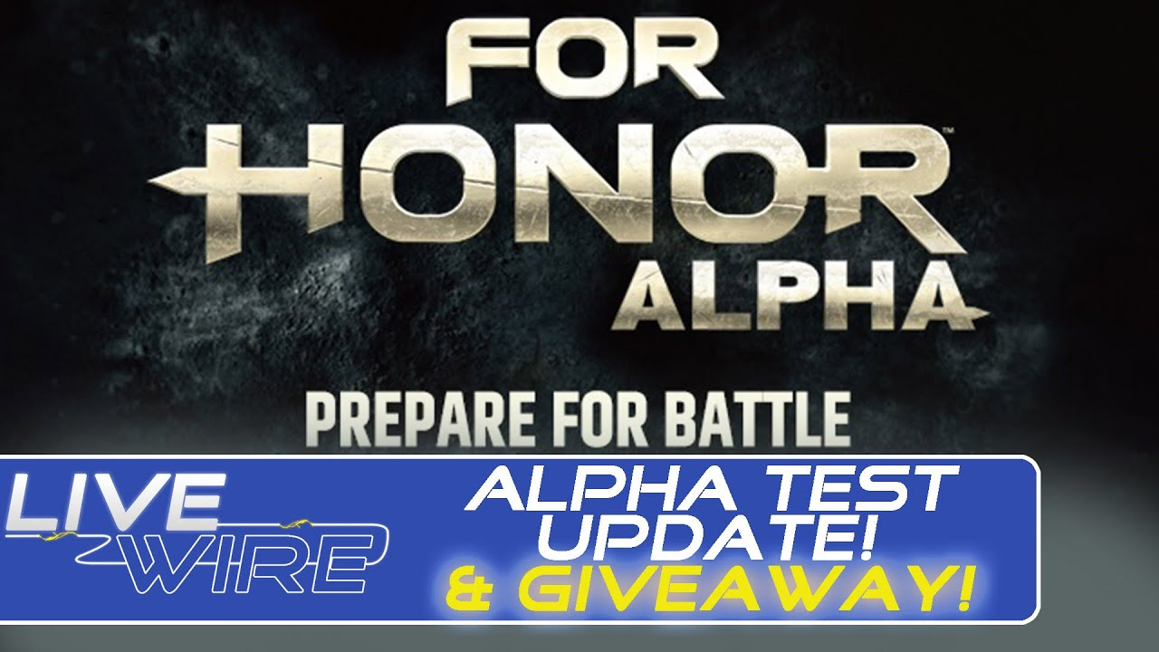 For Honor Alpha Key