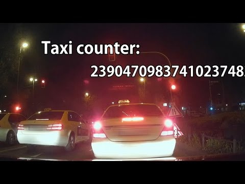Meanwhile in Germany 9: Taxis at night [I'm a Taxi Counter]