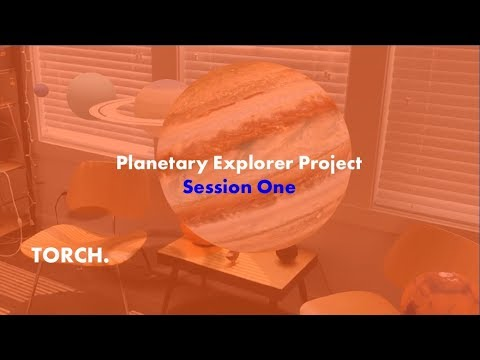 Rapid Prototyping a Planetary Explorer Mobile AR App