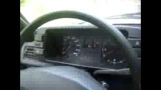 Audi 80 1.6D acceleration