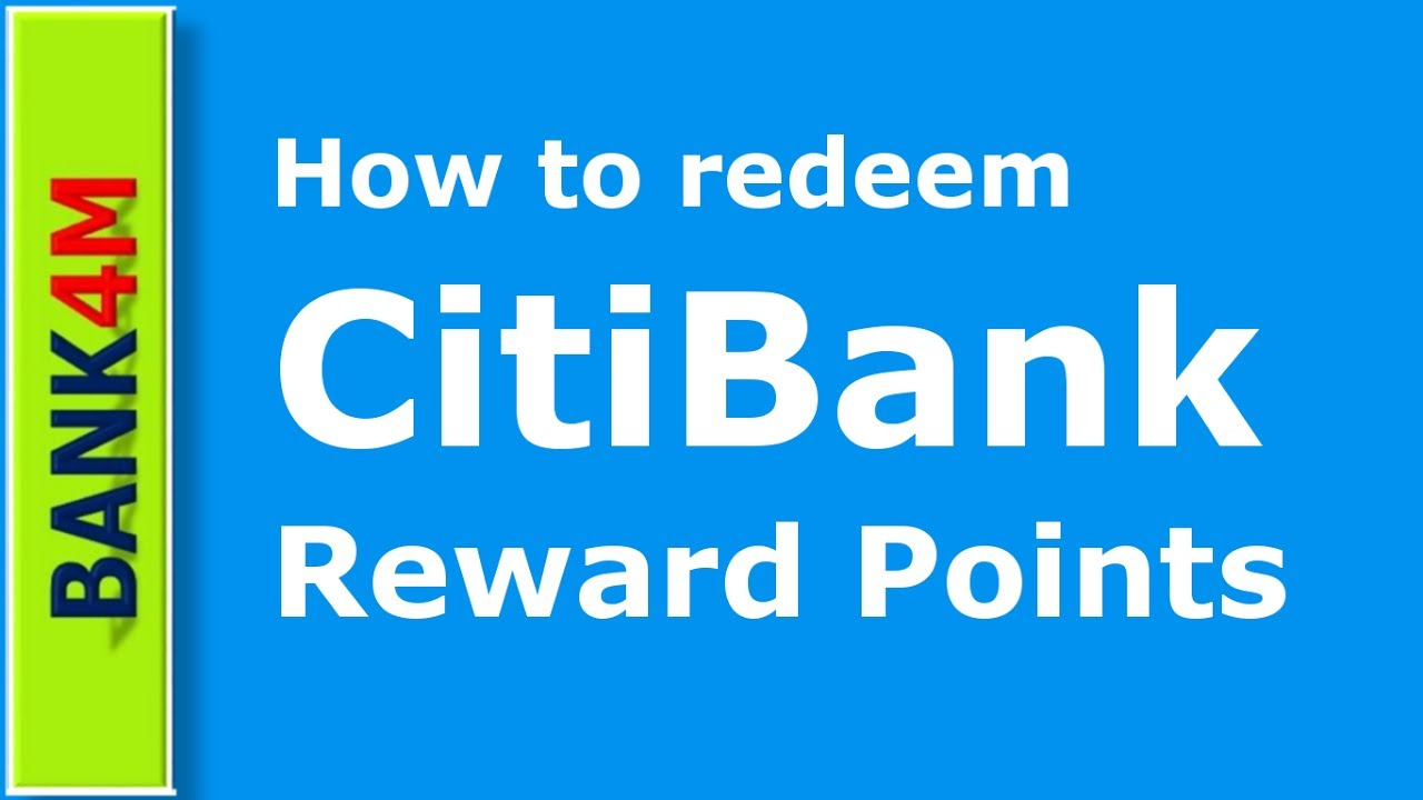 Pay Citibank Credit Card >> How to redeem Citibank Reward Points | Vodafone Postpaid bill pay - YouTube