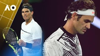 the road to the men s final   australian open 2017
